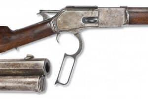 lever action 45-60 cowboy rifle