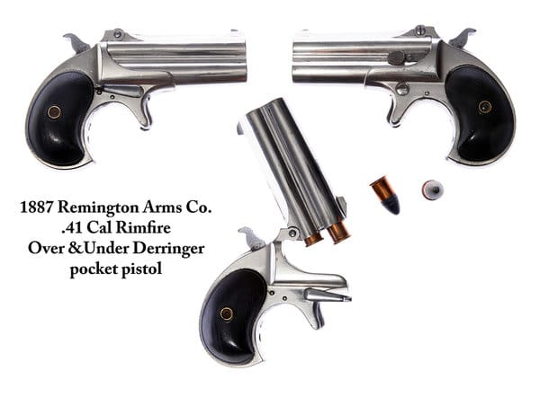 under derringer pocket pistol