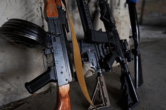 revolver rifles